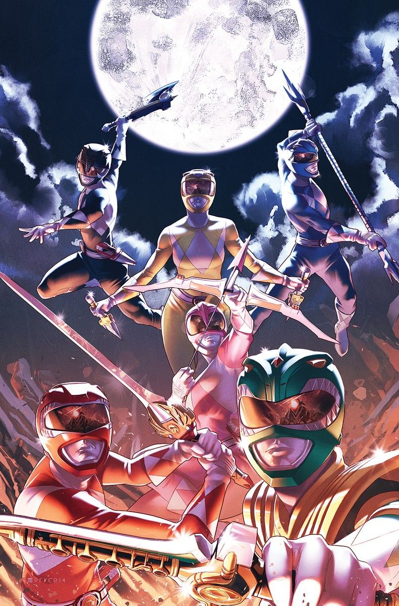 Mighty Morphin Power Rangers by Jamal Campbell
