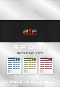 rp diet templates stronger faster harder to kill diet meal