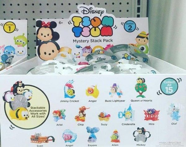 First Look Tsum Tsum Mystery Stack Packs Series 2 Tsum