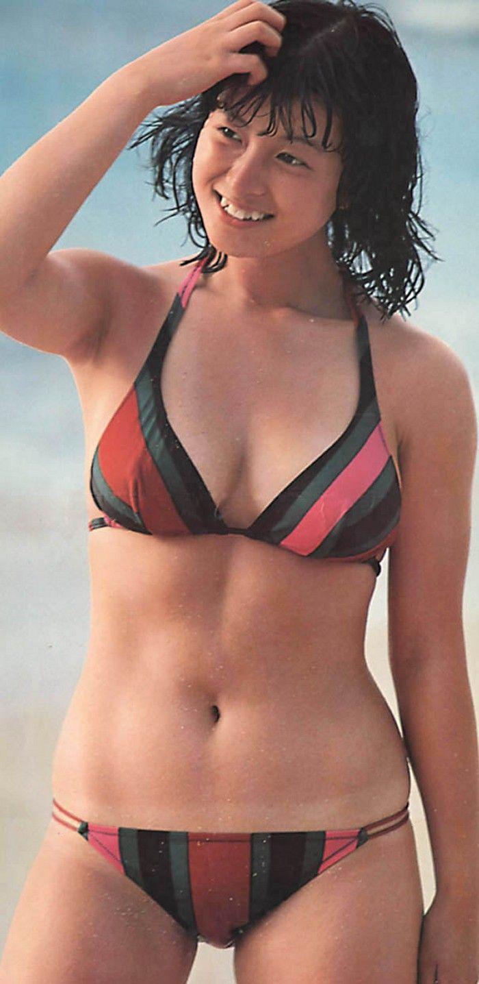 80年代アイドル 水着 河合 奈保子