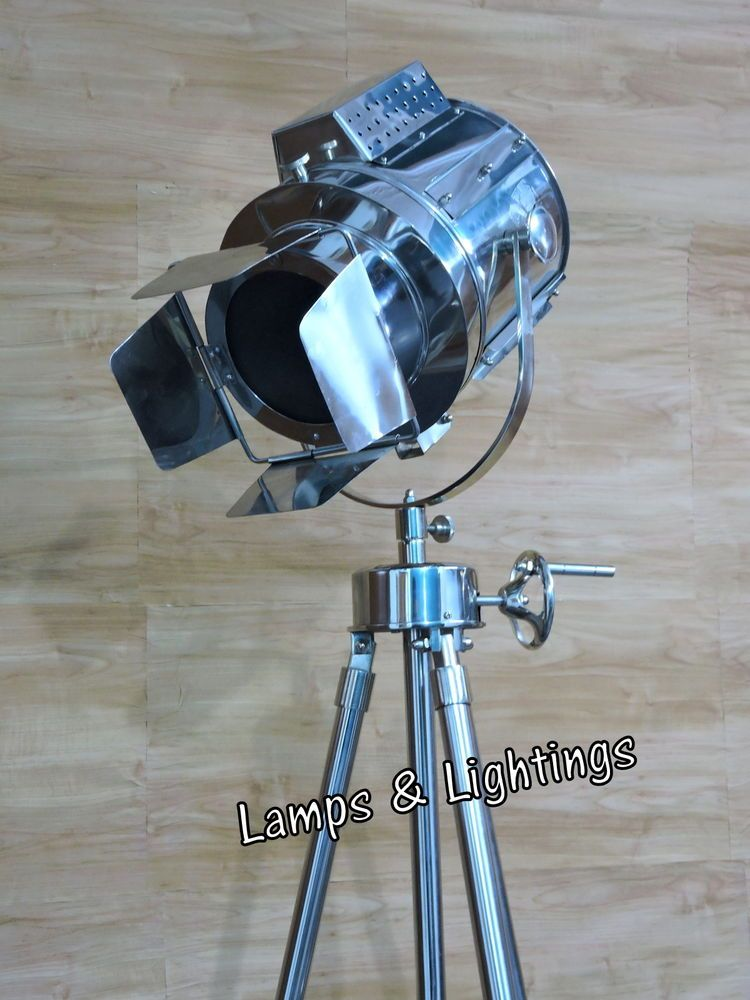 ART-DECOR SPOT SEARCHLIGHT VINTAGE FLOOR LAMP
