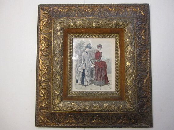 Sale Frame Gorgeous Frame Ornate Frame Gold By Thecottageway Ornate Frame Frame Framed Chalkboard