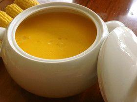 かぼちゃとマスカルポーネのスープ