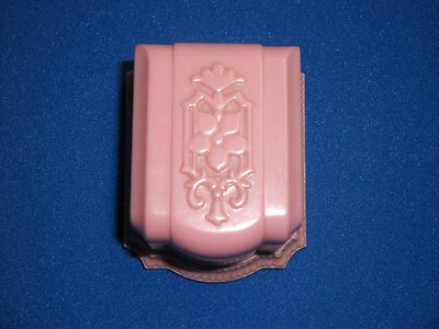 Vtg 1920s Pink Bakelite Ring Jewelry Double Box Warner Co EXC