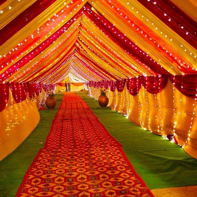 For the love of Indian wedding decor ️ tag someone who's ...