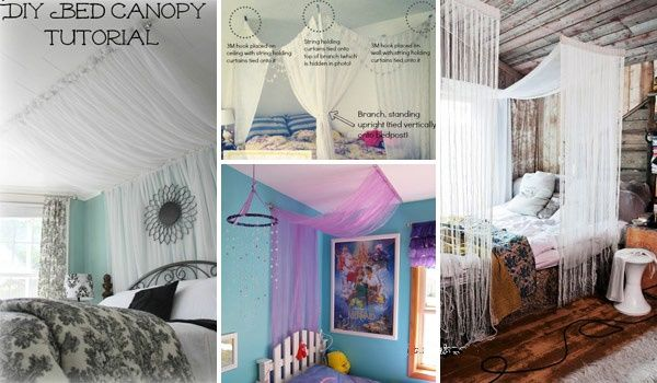 canopy diy stuff from home - Google Search