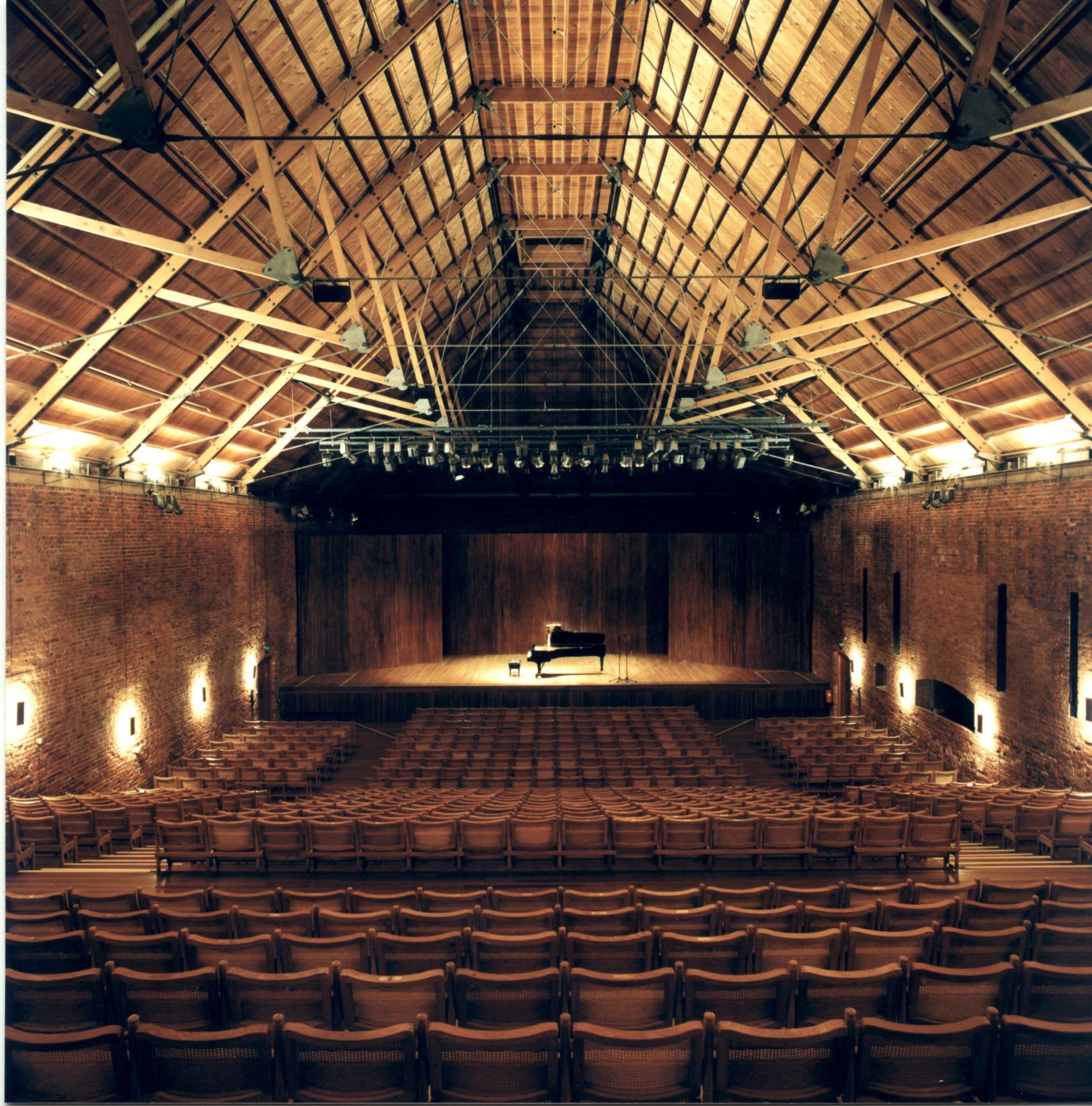 Felipe Lara Composer Concert Hall Theatre Architecture Snape Maltings Concert Hall