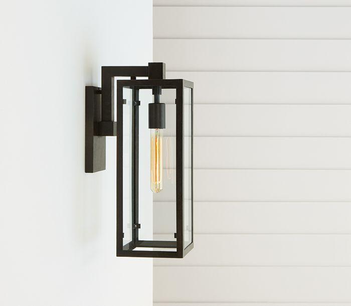 Circa Lighting Fresno Framed Medium Sconce In Aged Iron Visual Comfort Modern Outdoor Lighting Porch Lighting