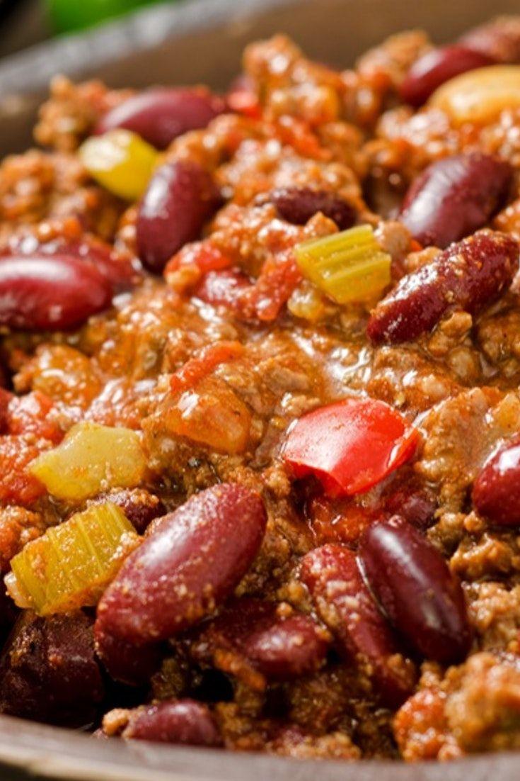 Chilli con carne | Recipe | Minced beef recipes, Turkey ...