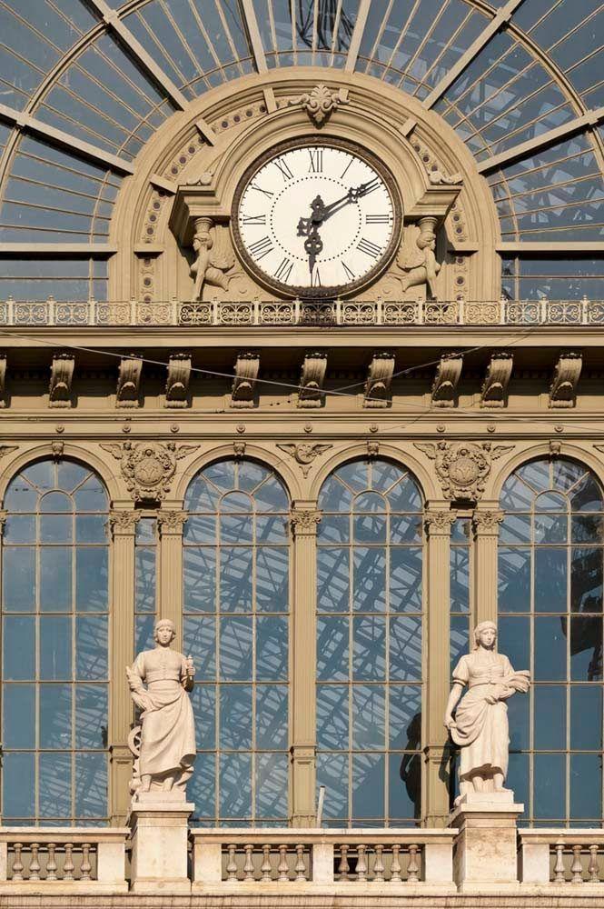 Budapest Keleti Railway Station Clock Clock Towers