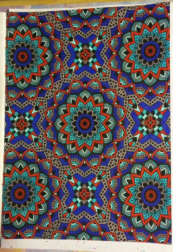 From Mandala Wonders Color Art for Everyone by Leisure Arts