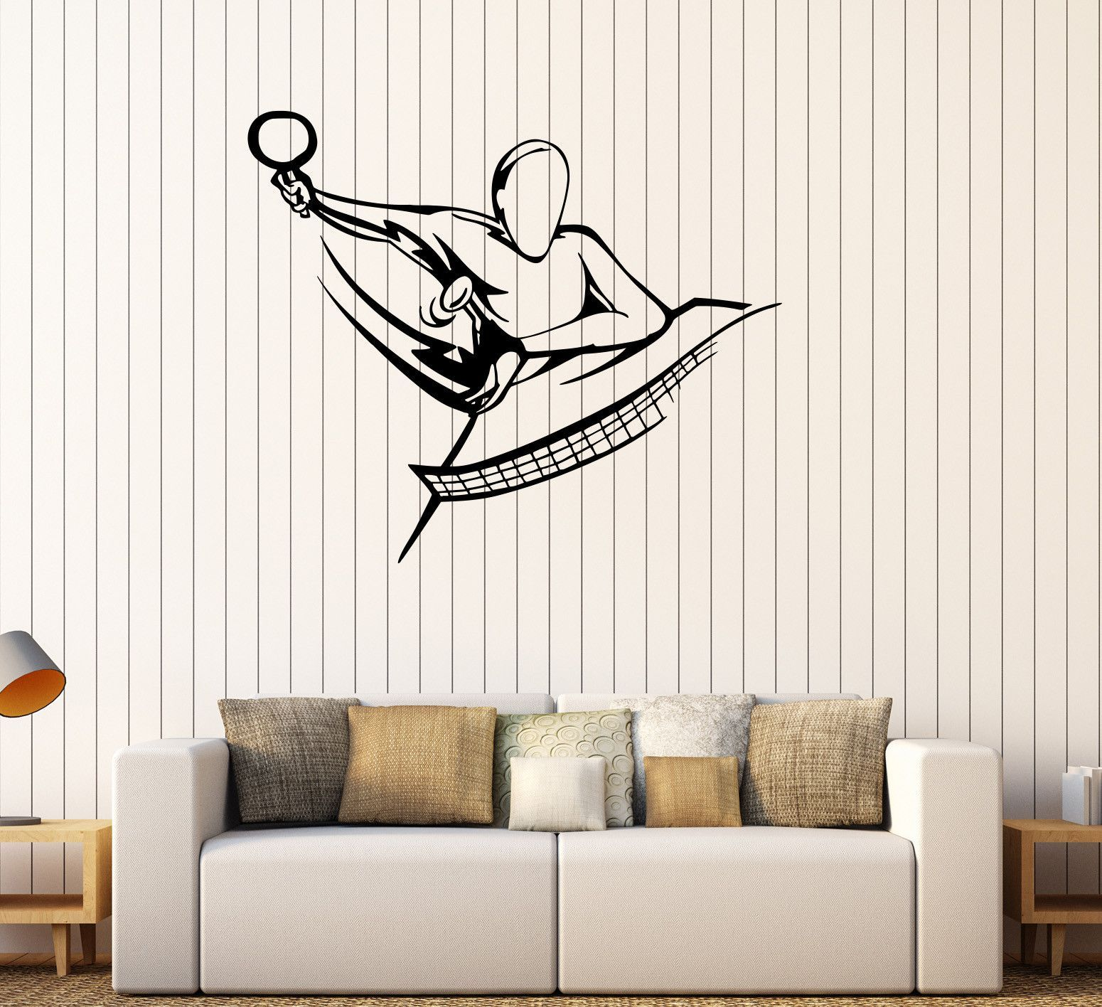 table tennis logo wall sticker sports ping pong vinyl decal home table tennis logo wall sticker sports ping pong vinyl decal home interior decoration waterproof high quality mural 11te by awesomezzdesigns on et