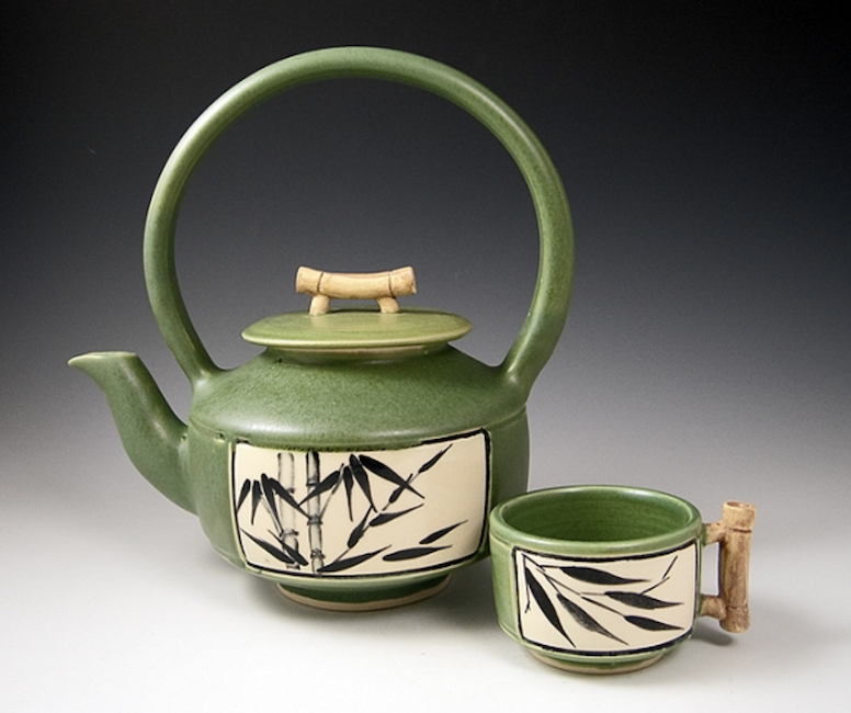 Bamboo Teapot Made To Orderships In 6 Weeks Pinterest Teapot