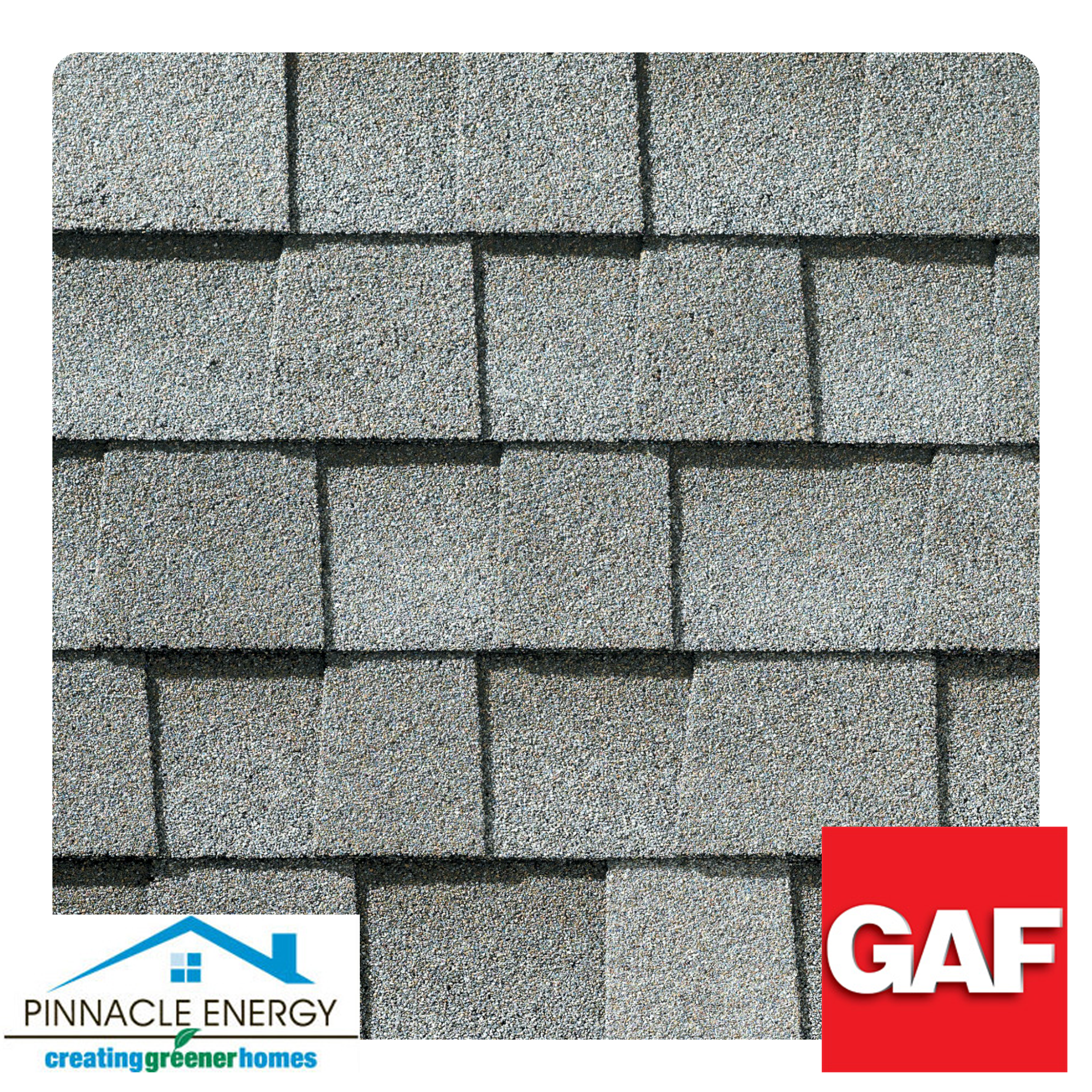 Fox Hollow Gray: Multi-faceted design and light-reflective construction add dimension and depth to the shingle