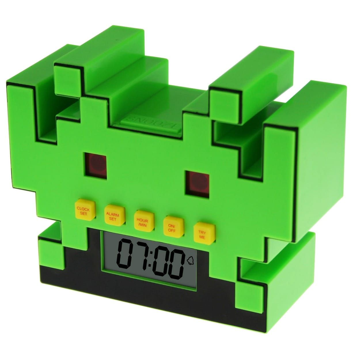 Space Invaders Digital Alarm Clock