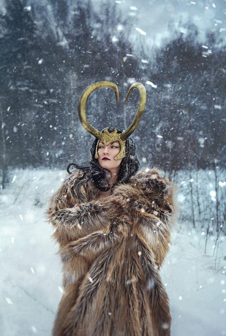 Winter in Asgard by ZoeVolf