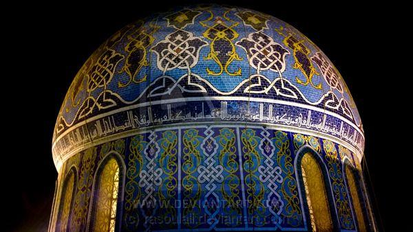 Fardous Mosque By Rasoulali On Deviantart Mosque Taj Mahal Baghdad