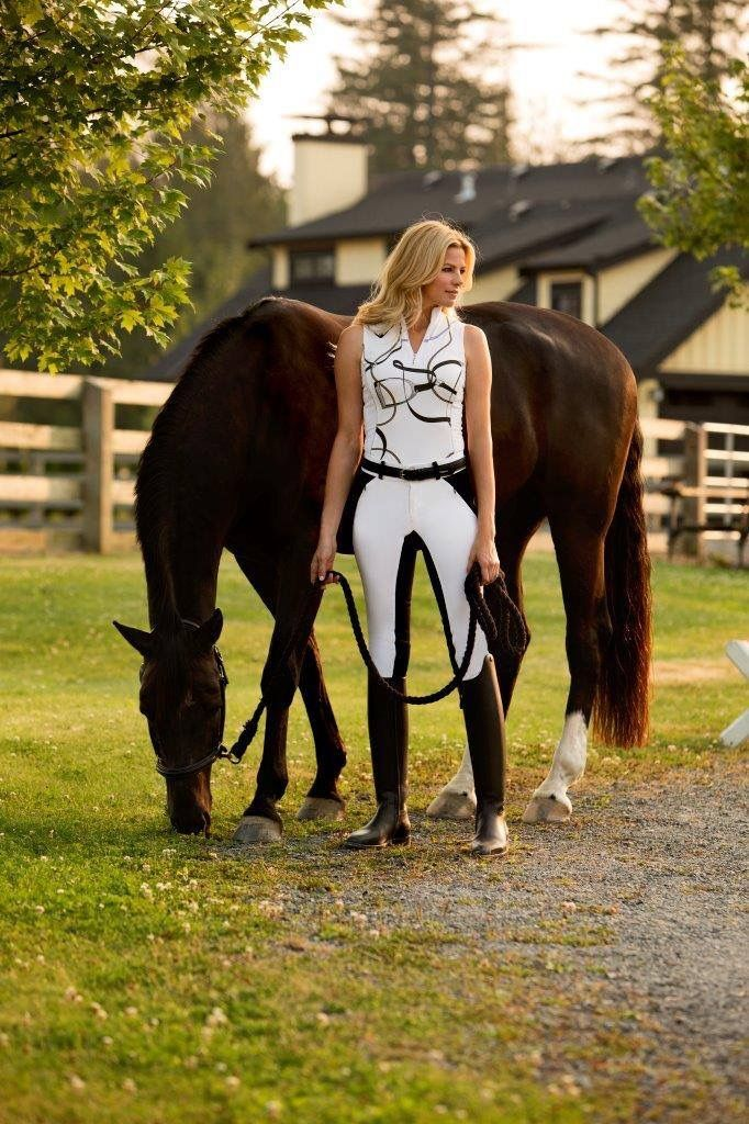 Artists Nanosphere Breeches Equestrian Horse Riding