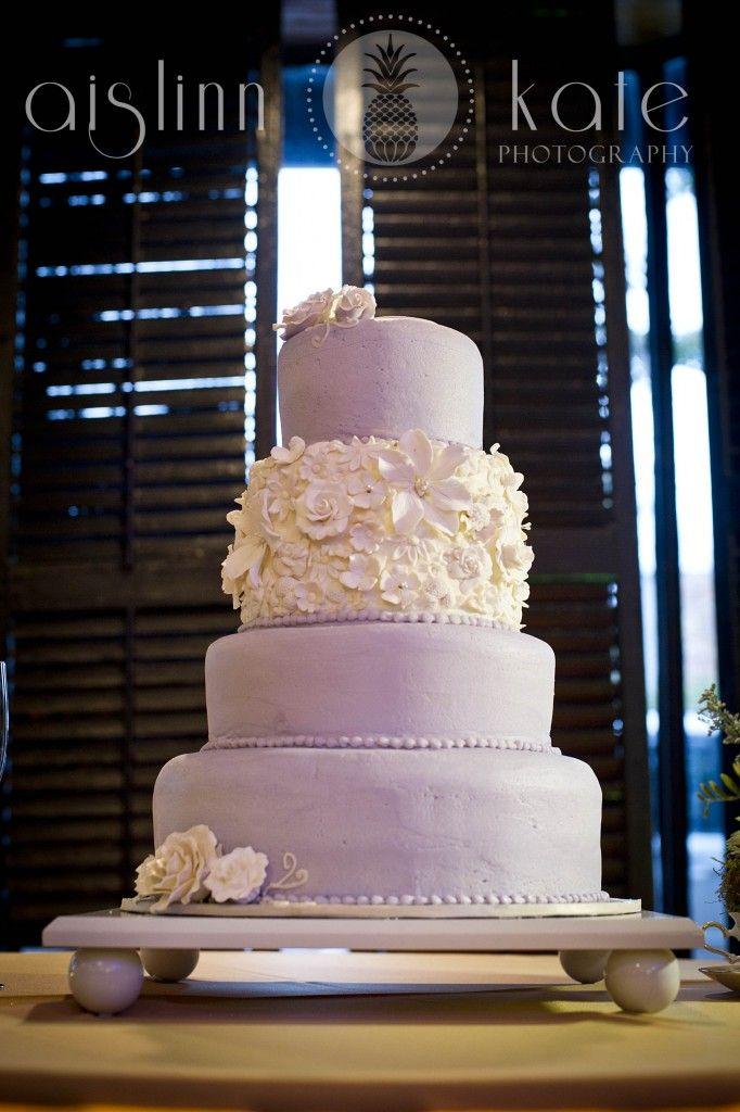 Lavender Wedding Cake Purple Pensacola Weddings