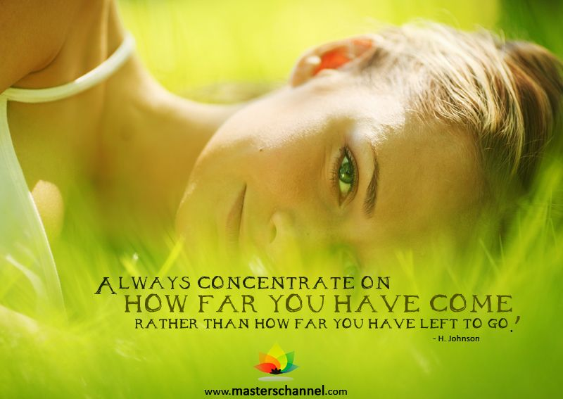 How far have you come? Masters Channel