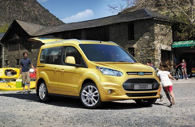 Ford Unveils Slicker Sleeker 2014 Transit Connect W Video Ford Transit Ford Vehicles