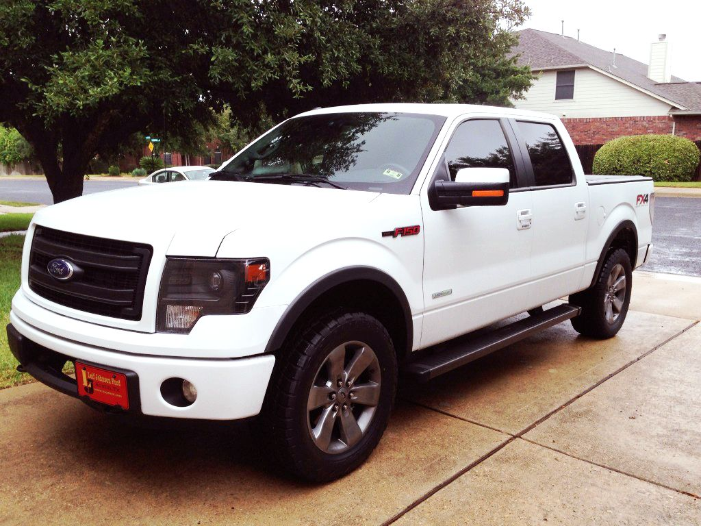2013 f150 ecoboost fx4 just paint the grille white and its perfect