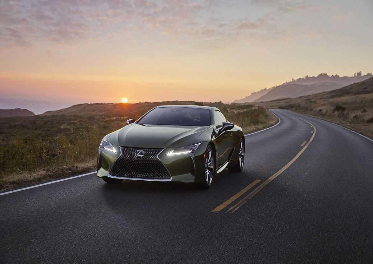 Lexus Adds A Nori Green Pearl Lc 500 To Its Limited Edition Inspiration Series Lexus Lc Lexus Car Colors