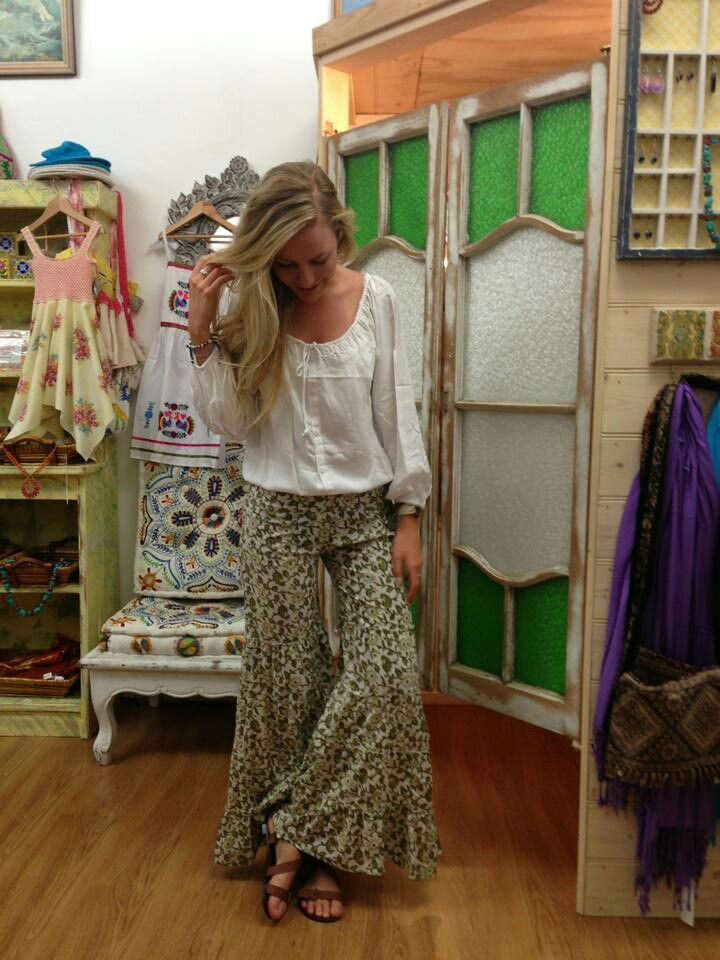 Beautiful bell bottom pants by Lilac Skin at Sea Gypsy Australia ...