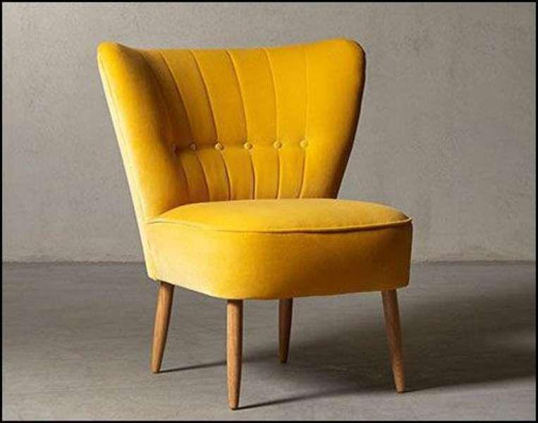 Yellow Accent Chair Australia Kursi Desain Dan Estetika