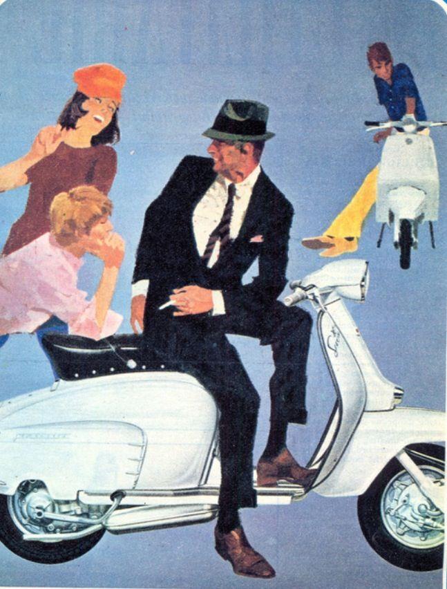 Lambretta Special vintage ad | Inspiring Ads | Pinterest ...