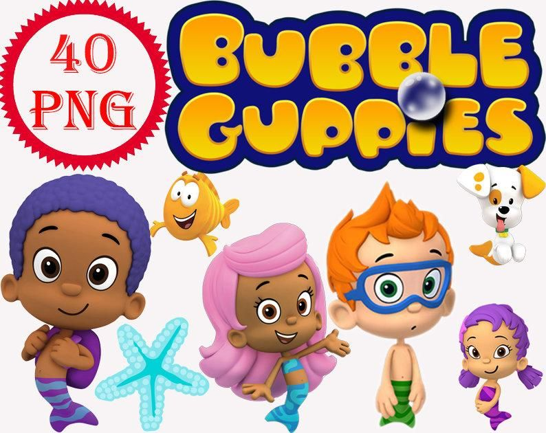 Cartoon Characters Bubble Guppies Png Pack Bubble Guppies Characters Bubble Guppies Bubble Guppies Birthday Party