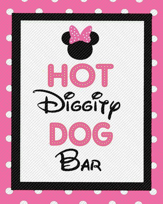 Hot Diggity Dog Menu