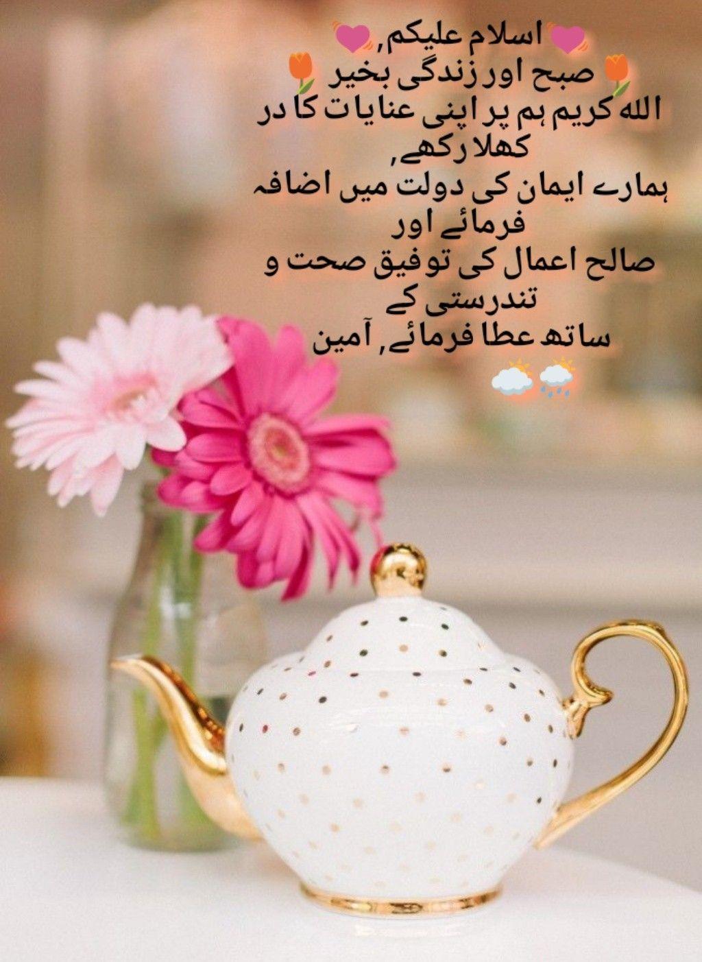 اسلام علیکم, صبح اور زندگی بخیر 🍀   Duaen   Morning quotes
