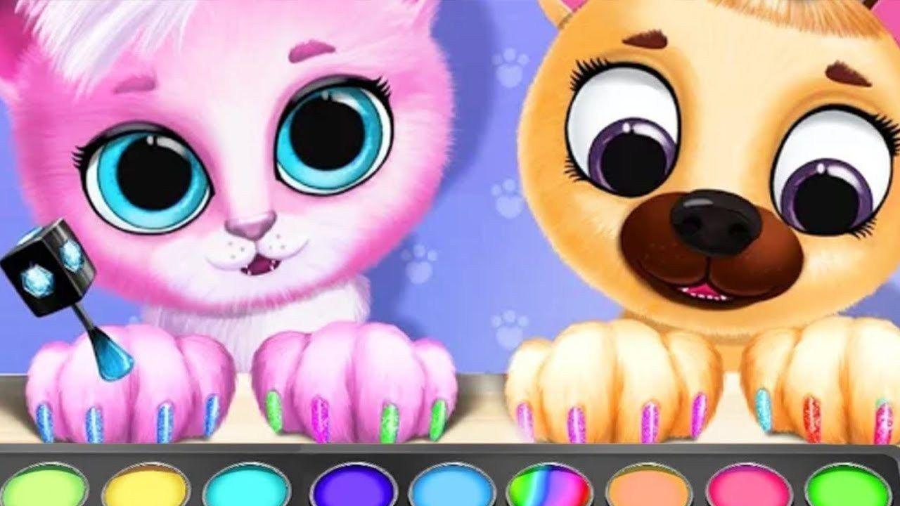 Fun Pet Care Kiki & Fifi Pet Beauty Salon Kids Games Puppy