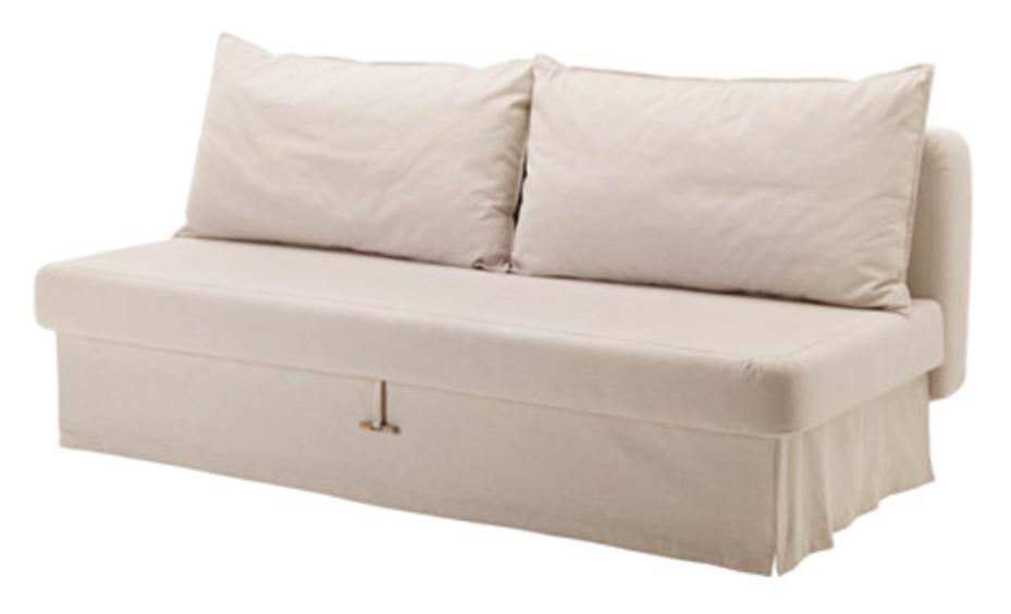 Himmene Sleeper Sofa Lofallet Beigem 449 00 At Ikea