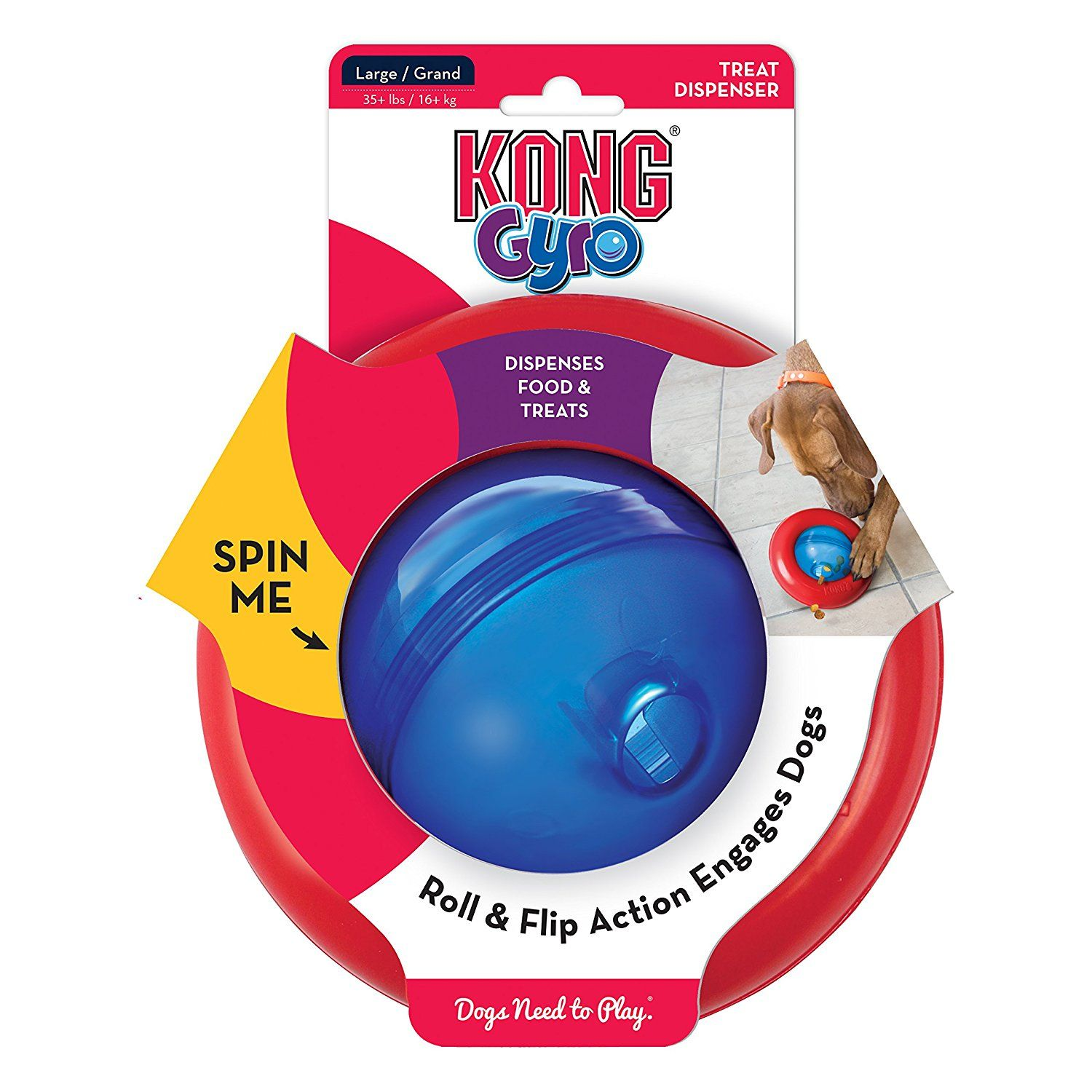 Kong Gyro Dog Toy Click On The Image For Additional Details