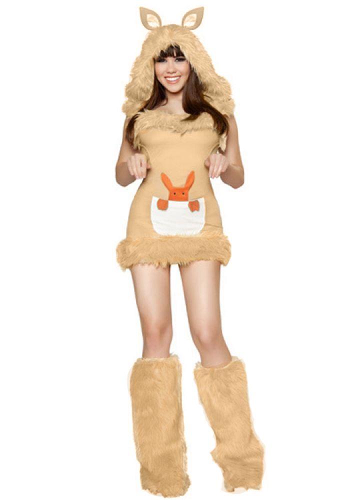 10 Unique Animal Halloween Costumes (Kangaroo)  sc 1 st  Pinterest & 10 Unique Animal Halloween Costumes from Pink Queen   Pinterest ...