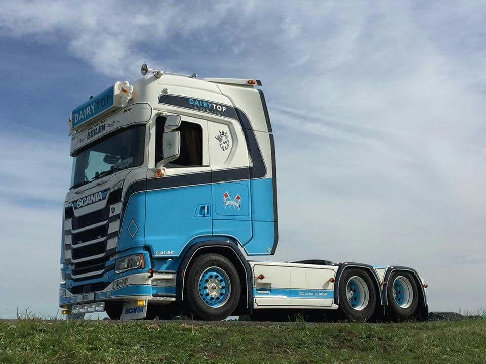 Dairytop Scania S580 Boogie