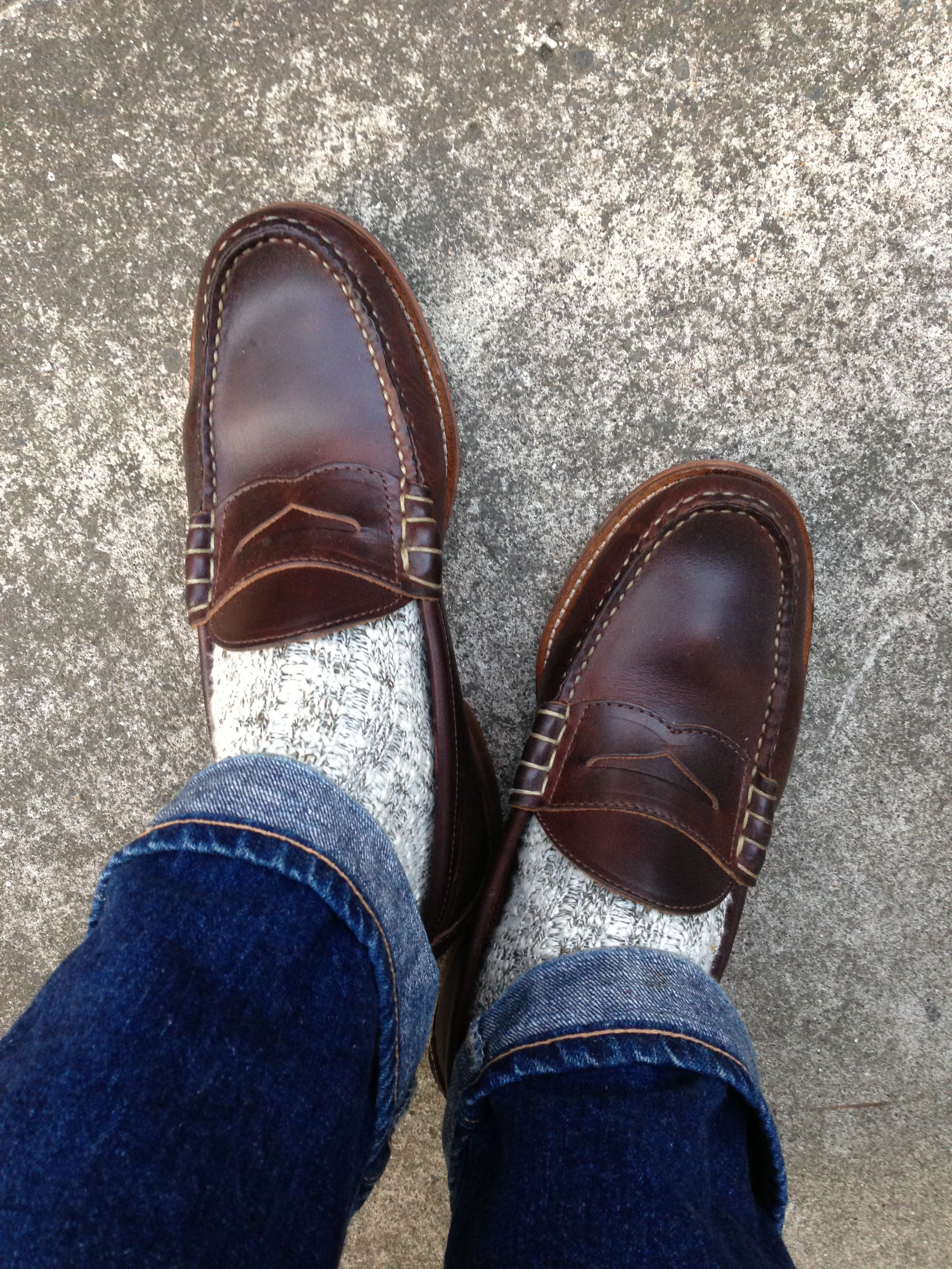 22e31fbfea1 I had a pair of penny loafers like this