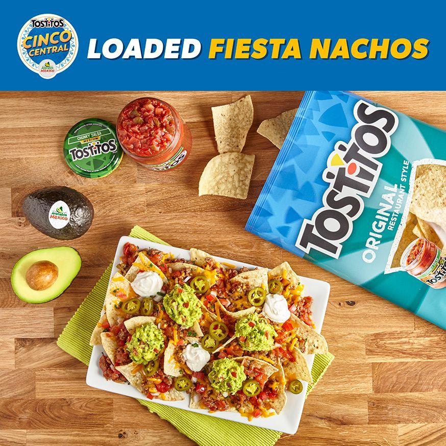 loaded fiesta nachos tostitos tostitos nachos stuffed peppers pinterest
