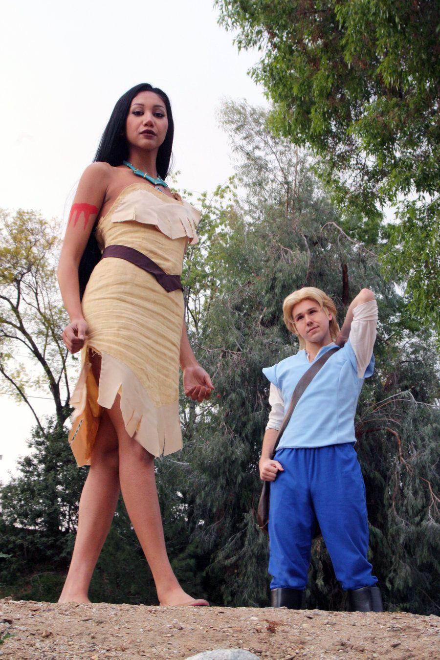 Pocahontas And John Smith Cosplay Scene By Chingrish Deviantart