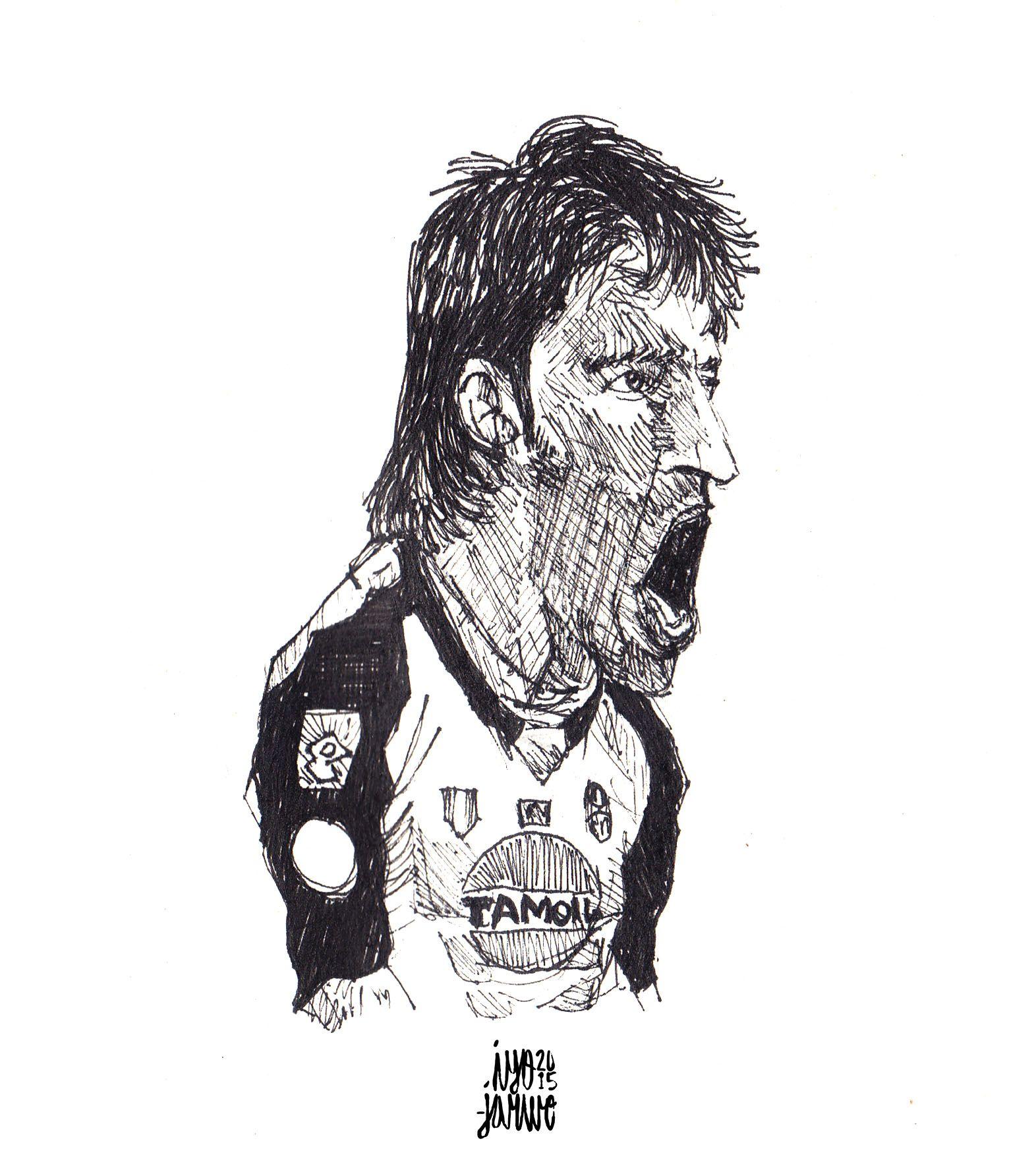 classic buffon sketch #buffon #juventus #football