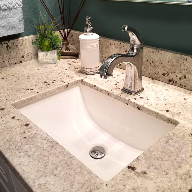 "Nantucket Sinks 16""x11"" Undermount Ceramic Sink ..."
