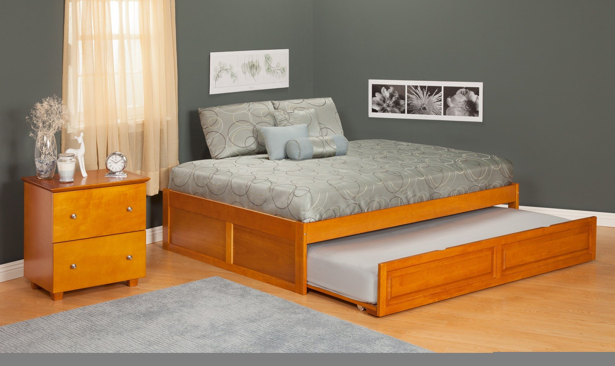 Bedroom Cool Furniture Twin Size Bed Frame For Corner