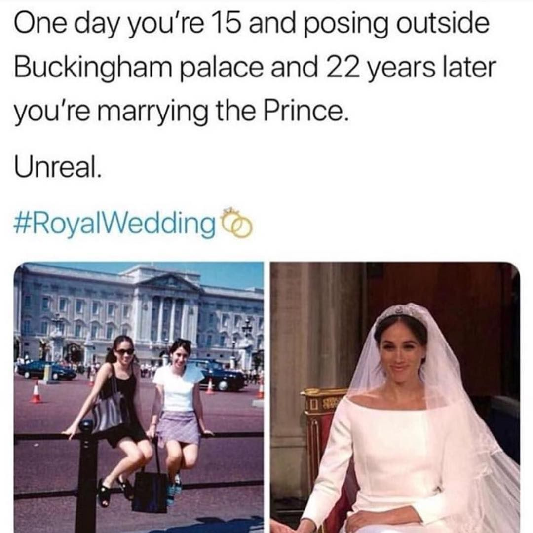 Life Hits You Fast Hair Beauty Express Theroyalwedding Meaganmarkle Royal Wedding Get My Life Together Memes