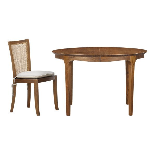 Calista Extension Dining Table In Dining Tables Crate And Barrel Table Extension Dining Table Dining Table