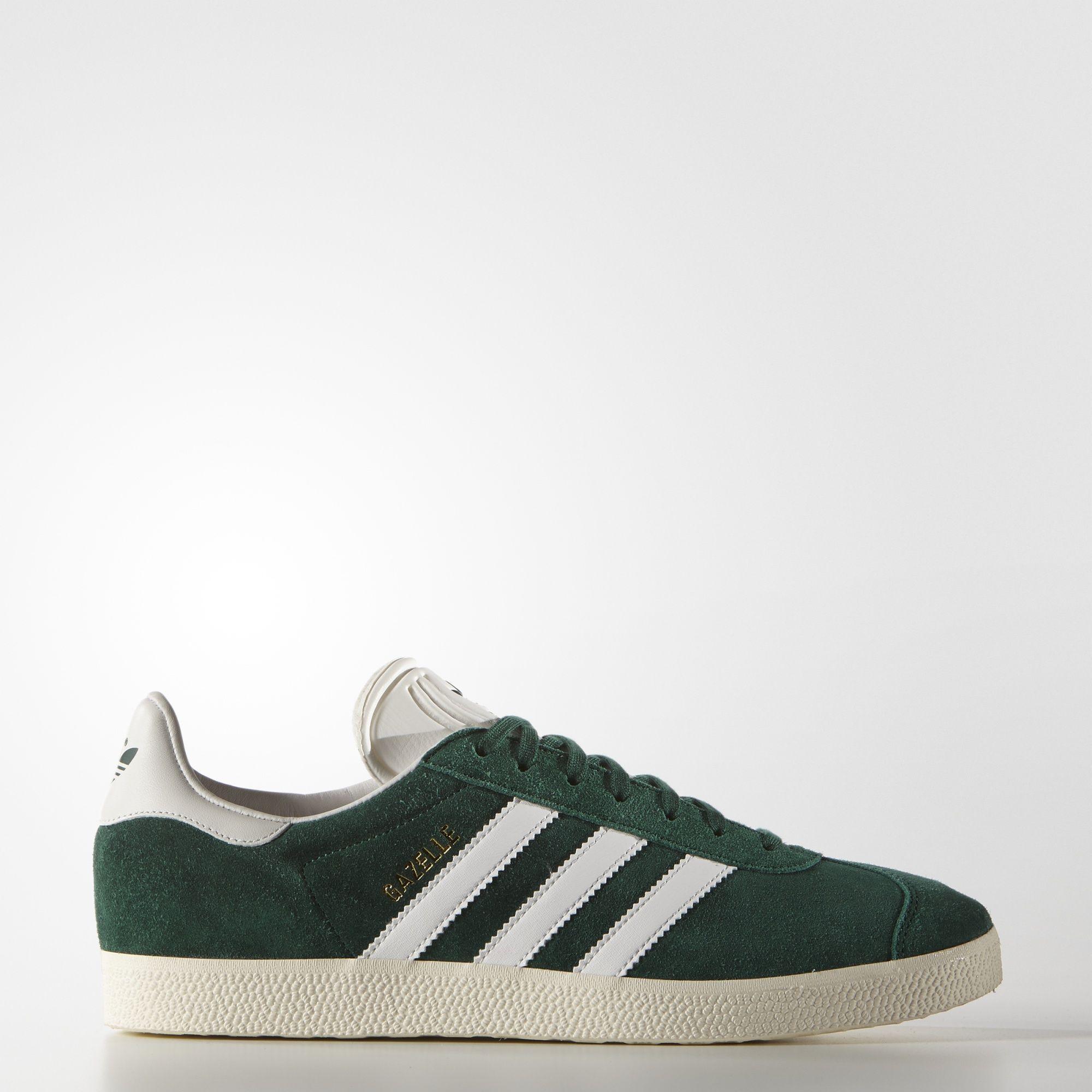 adidas gazelle verde vintage