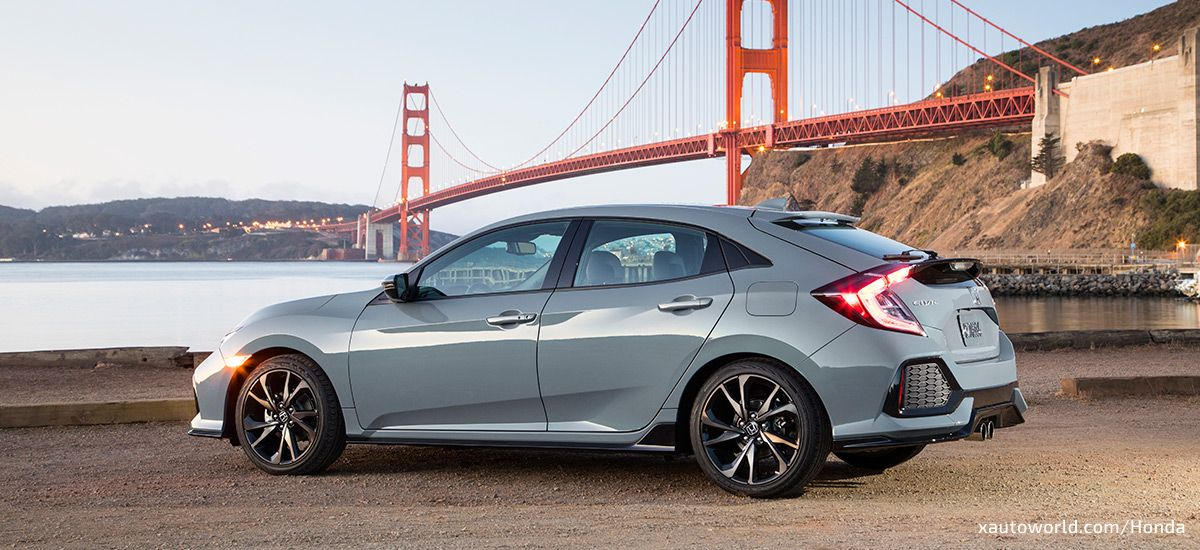 Civic Hatchback Is Back To Rock North America X Auto Reviews Honda Civic Hondacivic Hondalife Hondalov Civic Hatchback Honda Civic Hatchback Honda Civic