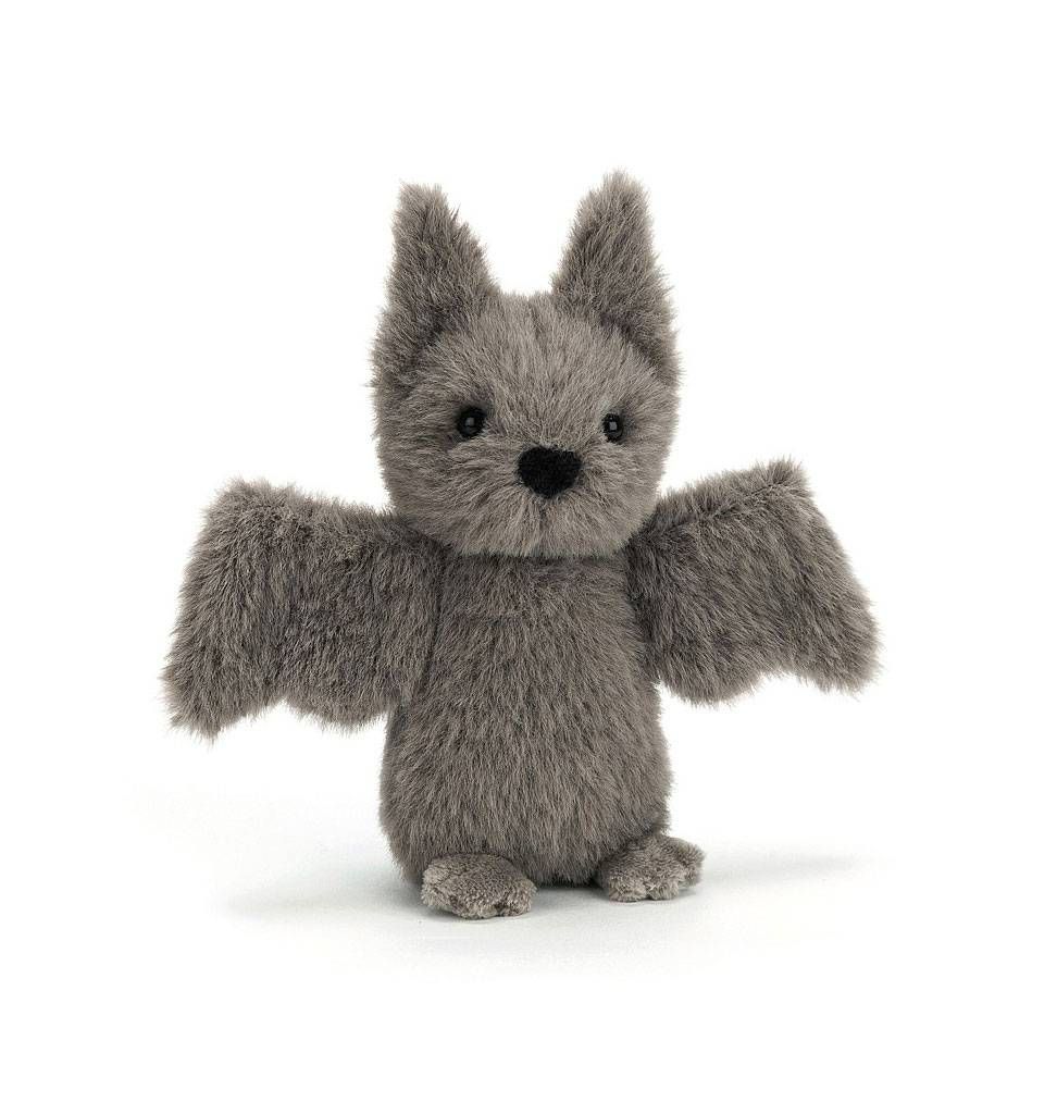 Jellycat Knuffels Fluffy Vleermuis Jellycat 12 Cm Knuffel Cadeautjes