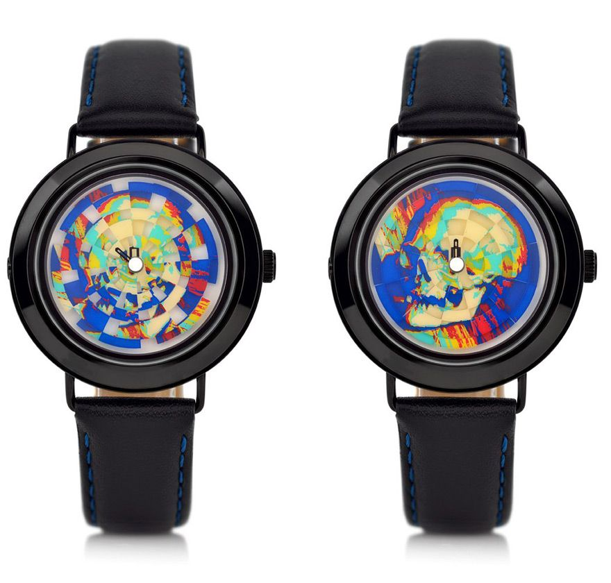 The Ambassador Watch from Mr Jones Watches Carries a Strong Message Inspired by a Painting from 1533